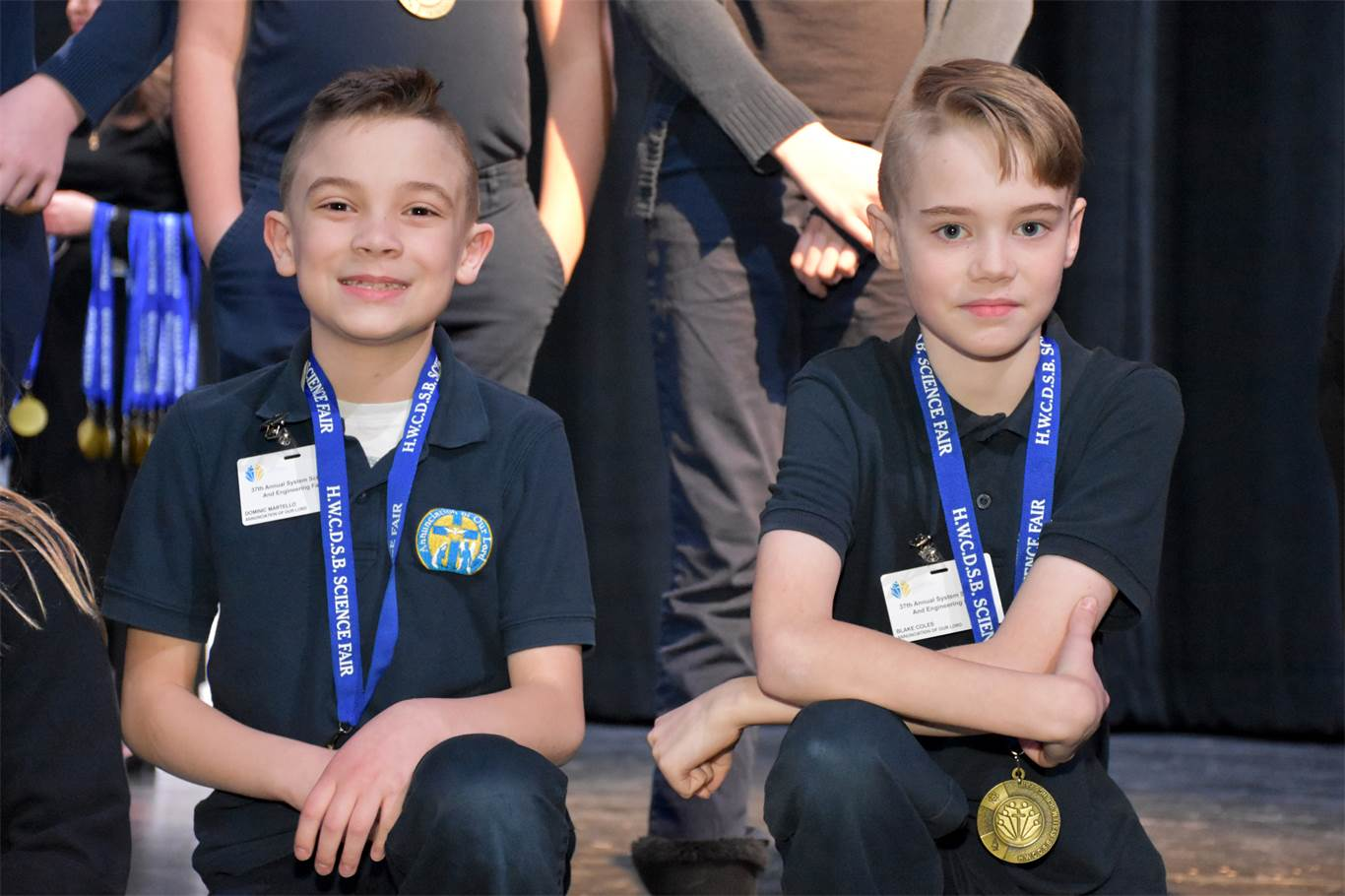 Awards ceremony recognizes science achievements