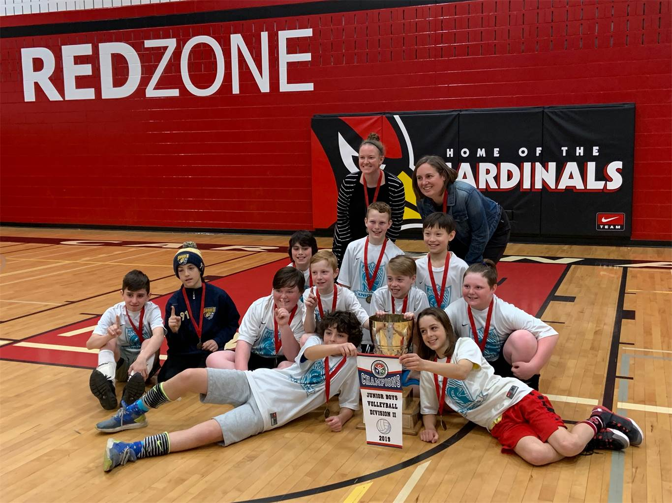 OLMC brings home double volleyball championship